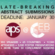 Submit Your Late-breaking Abstract Now