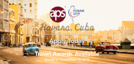 PanAm Travel Awards Available